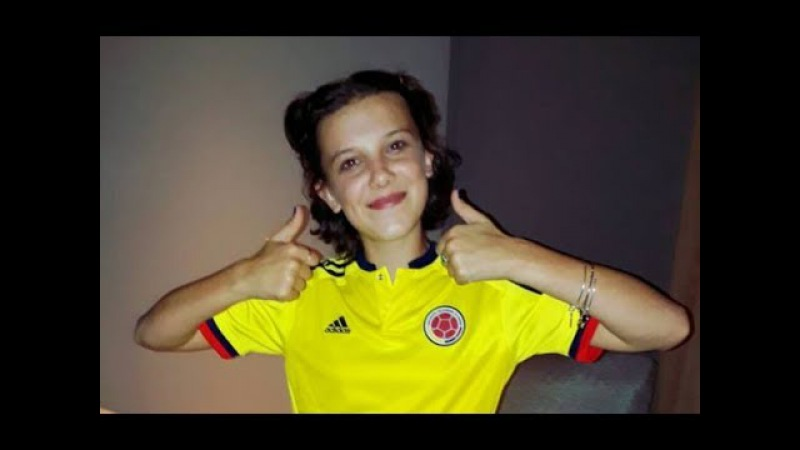 ¡Millie Bobby Brown, Eleven de Stranger Things en Colombia!