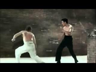 A luta do século entre Bruce Lee e Chuck Norris