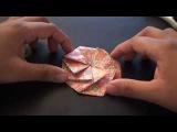 Origami Daily - 213 Tato Pleated Coin Purse (Fabric Origami) - TCGames HD