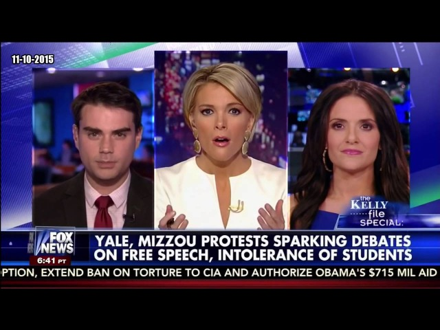 Ben Shapiro Destroys Feminist Liberal SJW on Free Speech at College USA Yale, Mizzou Protests