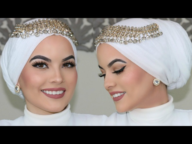 WEDDING HIJAB TUTORIAL (UPDATED)