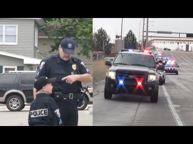 Полицейские помогают детям | Cops and Kids Compilation