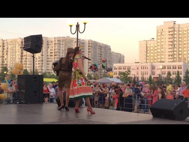 Мария Некалина и Елена Стенькина. День Победы. Военная песннная программа