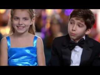 Kadan Bart Rockett and Brookyln Nicole Rockett young magician - America's Got Talent Auditions 2016