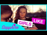 Girls Like - Tinie Tempah ft. Zara Larsson | 13 year old Sapphire and 10 year old Skye