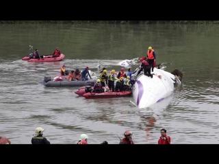 5 жутких авиакатастроф снятых на камеру (18+)