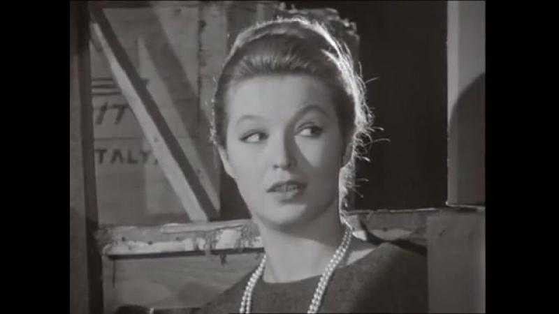 Марина Влади и Сэми Фрей на съемках фильма Семь смертных грехов 01 01 1961г