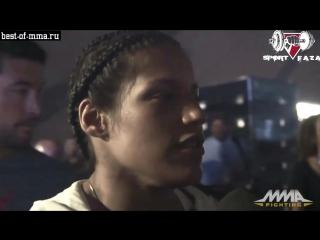Джулиана Пенья о своей победе и Аманде Нуньес