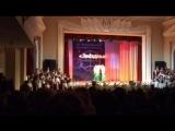 Выступление сводного хора и хореографического ансамбля