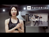 1Million dance studio Haunted - Stwo (ft. Sevdaliza) Dance Tutorial