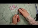 ? Мастер-класс - делаем #елочные #игрушки из #лент. Что нам мешает сделать такую красоту из фоамирана? ;-)