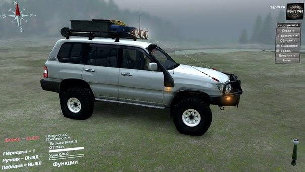 Toyota Land Cruiser для Spintires - Скриншот 1