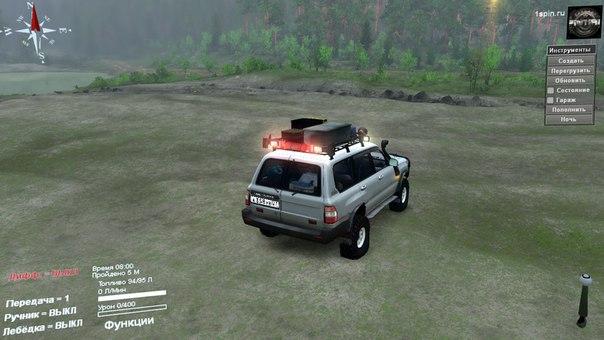 Toyota Land Cruiser для Spintires - Скриншот 2