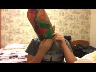 Как надеть пакет на голову правильно (чтобы не задохнуться)