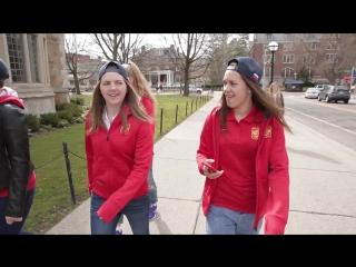 Женская сборная России по хоккею в университете Мичигана