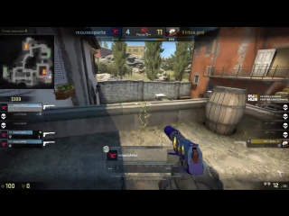 CT pistol round for mousesports, de_inferno @ ESL Pro League