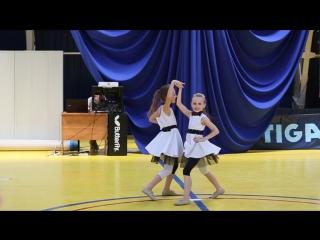 Открытое первенство ДЮСШ 12 по акробатическому рок-н-роллу (Ростов-на-Дону)