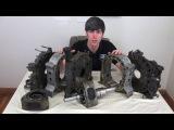 Как работает роторный двигатель на примере двигателя Ванкеля из RX-7 [BMIRussian]