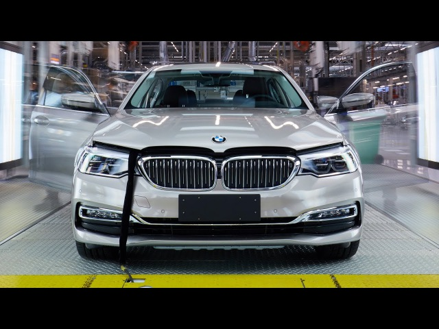 BMW 5 Series (2017) Production [CAR FACTORY]
