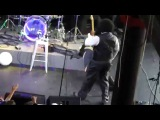 Joseph Edgar Foreman AKA Afroman Punches girl on stage