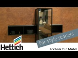 For style scapers the moveable display cabinet