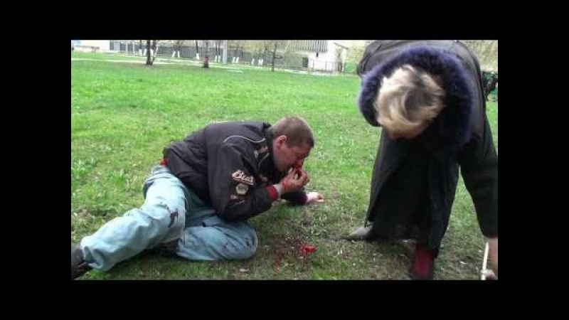 Как сломать руку гопнику на улице / Самооборона на улице