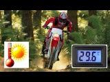 Эндуро/Кросс, дешёвый датчик температуры с дисплеем + установка