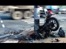 Последний хруст Аварии мотоциклистов