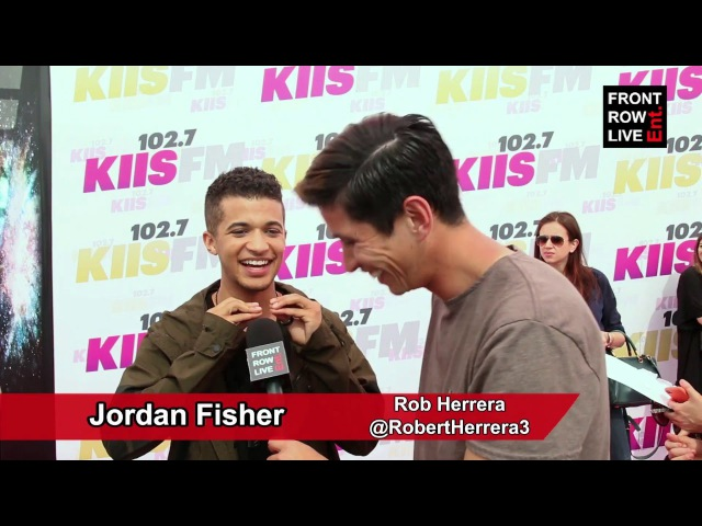 Jordan Fisher talks Debut Album w/ @RobertHerrera3