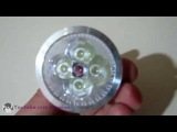 Review Energy Saving E14 4X1W High Power LED SPOT Lamp Lights 4W 85V-265V Cool White