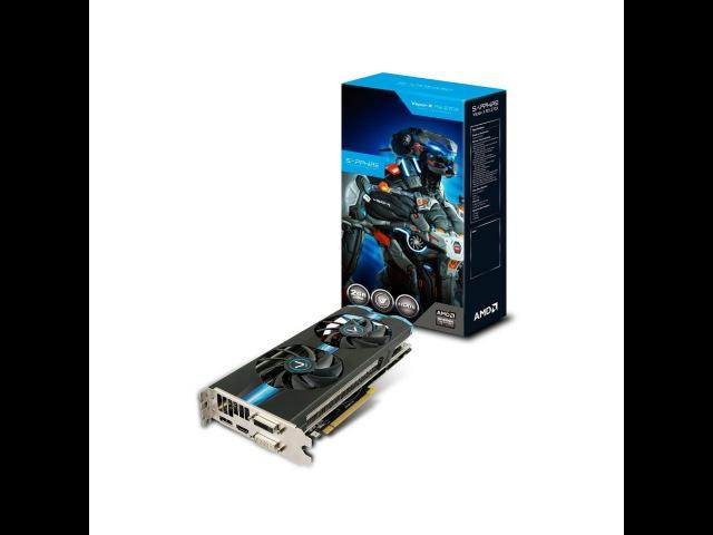 Unboxing Sapphire ATI AMD Radeon R9 270X 2G DDR5 VaporX OC PCI-E Video Card HDMI DVI DP