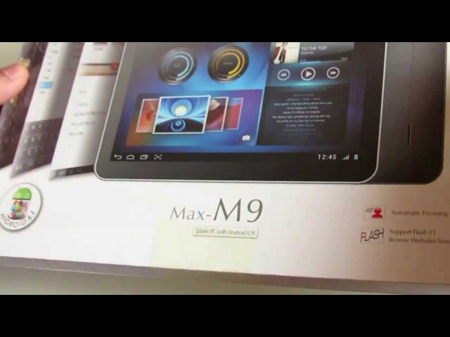 Unboxing Pipo M9 10.1