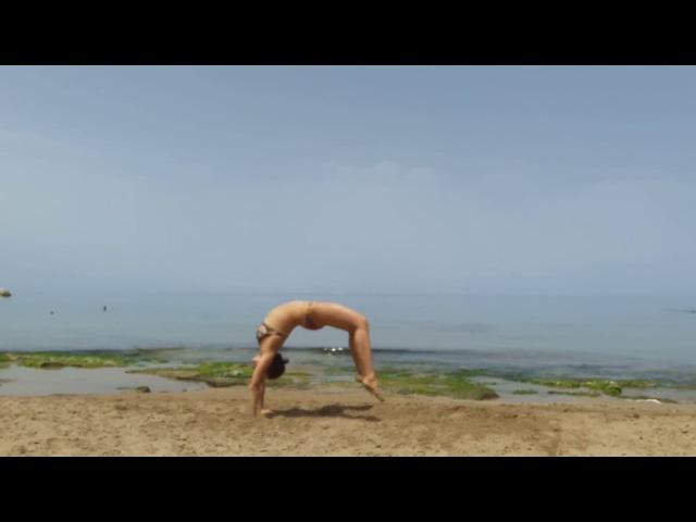Немного акробатики на раскалённом песке