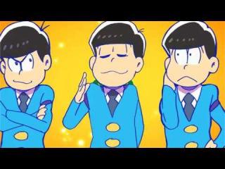 【手描き】おそ松さんED〜全松ver 〜 Niconico Video GINZA