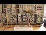 Live Jam #48 - Industrial Electro Triphop - Eurorack modular system synced to Korg Volca Sample