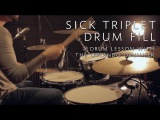 Sick Triplet Drum Fill - Drum Lesson w/ The Orlando Drummer