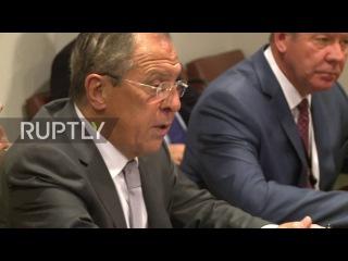 ООН: Министр Иностранных Дел Ирака аль-Джафари встретился с Лавровым в кулуарах ГА ООН.