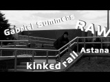 Gabriel Summers RAW footage 50-50 kinked rail in Astana