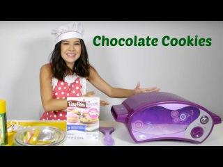 Рецепты для детей с Бренди. Простой рецепт шоколадного печенья. Видео на английском языке.