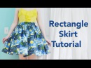 Rectangle Skirt Tutorial Starry Night Skirt