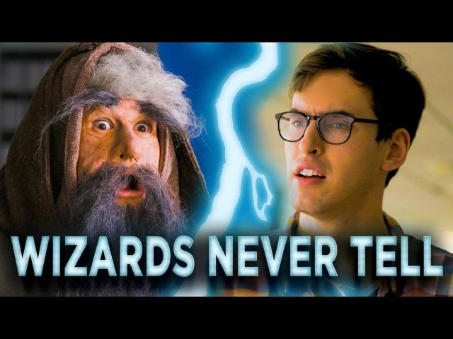 Assh*le Wizard Won't Reveal His Secrets