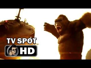 KONG: SKULL ISLAND TV Spot 3 - All Hail The King (2017) Tom Hiddleston Action Movie HD