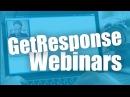 GetResponse Webinars   Online meetings 📹
