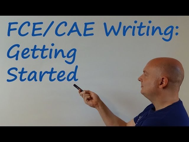 FCECAE Writing Getting Started