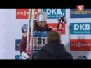Биатлон. Награждение призеров индивидуальной гонки. Женщины. 30.11.2016