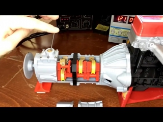 Коробка передач на 3D принтере