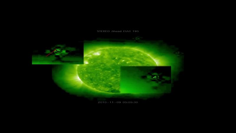Сурьядэв Гигантские НЛО у Солнца 2011 Фильм расследование
