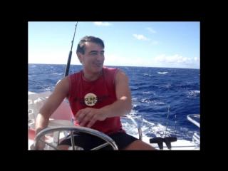 Доминикана, Карибское море, рыбалка на голубого марлина...