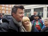 Рик Эстли в Лондоне. 29.10.2016г.