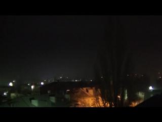 Укрофашисты вновь долбят по Ясному и окраинам Докучаевска, 21-00, 20.02.17г.